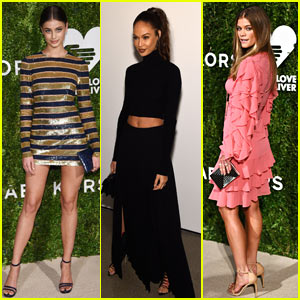 Taylor Hill, Joan Smalls, & Nina Agdal Shine at Golden Heart Awards