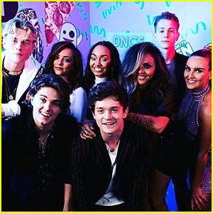 Little Mix & The Vamps Meet Backstage at BBC Radio 1 Teen Awards 2016