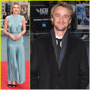 Tom Felton & Laura Carmichael Open BFI Film Festival with 'A United Kingdom'