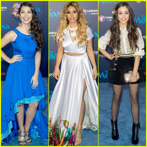 Auli'i Cravalho Premieres Her New Movie 'Moana' in Hollywood