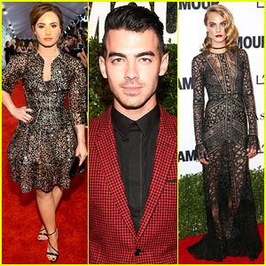Demi Lovato & Joe Jonas Celebrate Girl Power at Glamour Event!