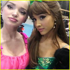 Dove Cameron Shares 'Hairspray Live!' Selfie With Ariana Grande!