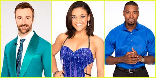 Get To Know DWTS Finalists James Hinchcliffe, Laurie Hernandez & Calvin Johnson Jr!