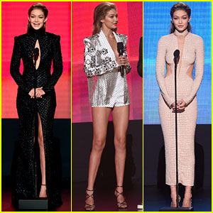 Gigi Hadid Brings Her Style A-Game to AMAs 2016!