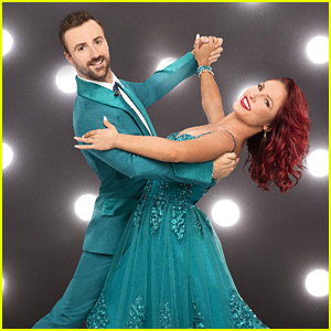 VIDEO: James Hinchcliffe Gives Sharna Burgess His Racing Jumpsuit (DWTS Finale)