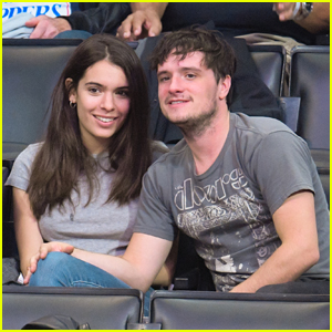 Josh Hutcherson & Claudia Traisac Have A Basketball Date Night