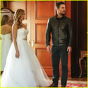 Do Katie Cassidy & Stephen Amell Get Married on 'Arrow's 100th Episode Tonight?!