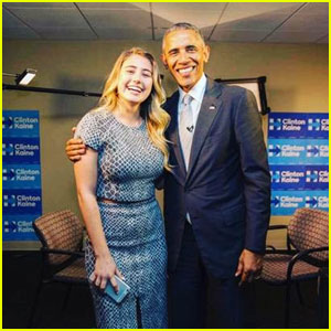 Watch YouTube Star Lia Maria Johnson Interview President Obama!