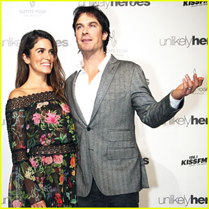 Nikki Reed & Ian Somerhalder Attend Unlikely Heroes Charity Benefit!