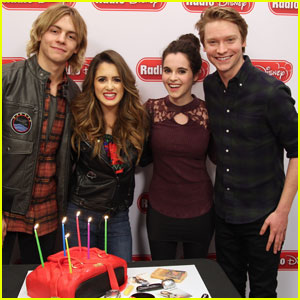 VIDEO: Laura Marano Gets Big Birthday Hugs From Ross Lynch & Calum Worthy
