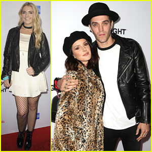 Rydel Lynch, Shenae Grimes, & More Attend Airbnb's Open Spotlight!