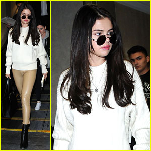 Selena Gomez Spotted Looking So Chic at LAX
