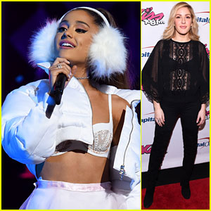 Ariana Grande's Dad Supporter Her at 'Hairspray Live!' & Jingle Ball!