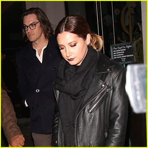 Ashley Tisdale Glams Up For Post-Christmas Dinner With Vanessa Hudgens