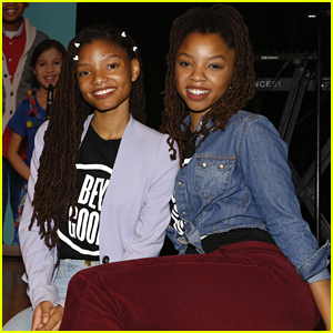 Chloe x Halle Gift Piano To Middle School with VH1 Save the Music Foundation