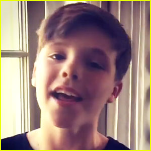 Cruz Beckham Is Now on Instagram!