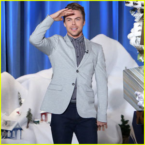 VIDEO: Derek Hough Keeps Messing Up This One Line From 'Hairspray Live!'