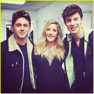 Niall Horan Reunites with Ex Ellie Goulding in New Photo