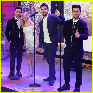 VIDEO: Classical Singer Jackie Evancho Teams With Il Volo For Stunning Version of 'Little Drummer Boy'