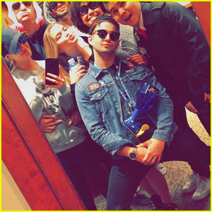 Jack Griffo Celebrates His 20th Birthday With Ariel Winter, Ross Lynch, & More!