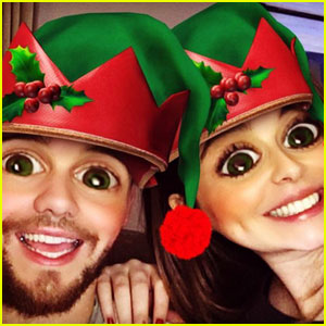 Cheryl Cole Shares Silly Christmas Photo With Liam Payne!