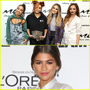 VIDEO: Watch Little Mix Completely Gush Over Zendaya