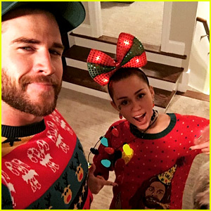 Miley Cyrus & Liam Hemsworth Wish Jesus a Happy Birthday!