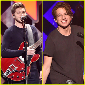 Niall Horan & Charlie Puth are Holiday Crush-Worthy at Z100's Jingle Ball 2016!