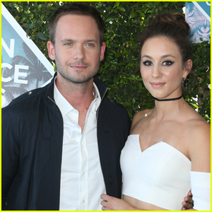 Troian Bellisario & Patrick J. Adams Are Officially Married!
