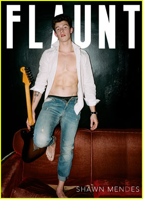 Shawn Mendes Talks Love & Fame For Shirtless 'Flaunt Magazine' Cover Story!