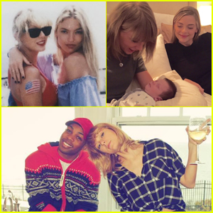 Taylor Swift Got the Sweetest Birthday Messages From Her Squad!