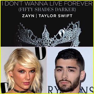 Taylor Swift Drops 'Fifty Shades' Duet with Zayn Malik - LISTEN NOW!