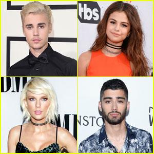 JJJ's 30 Most Popular Celebs of 2016 Include Justin Bieber, Selena Gomez, & More!