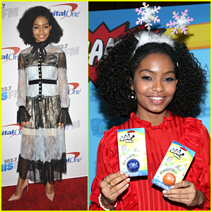 Actress Yara Shahidi Started Her Own Mentoring Club!
