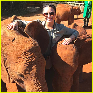 Demi Lovato Shares Powerful Pics From 'Me to We' African Trip