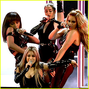 VIDEO: Fifth Harmony Wins Favorite Group at People's Choice Awards, Performs for First Time as Foursome