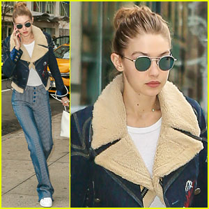 Gigi Hadid Shows Off Her Fabulous Street Style!