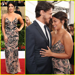 Gina Rodriguez & Boyfriend Joe LoCicero Are #CoupleGoals at SAG Awards 2017