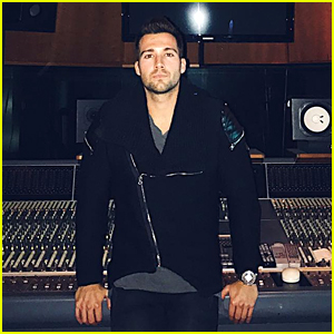 James Maslow Celebrates Finishing Last Vocals For Solo Album