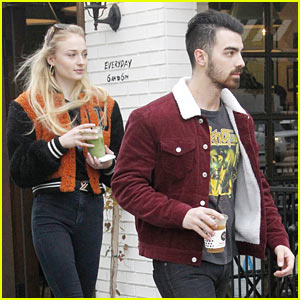 Joe Jonas & Sophie Turner Couple Up for DNCE's Party