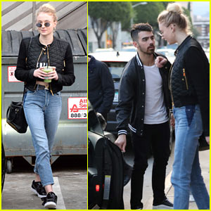 Joe Jonas Opens Car Door for Girlfriend Sophie Turner While on Date!