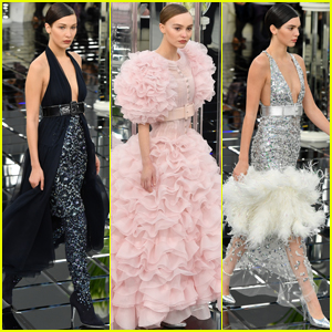 Bella Hadid, Lily-Rose Depp & Kendall Jenner Sparkle For Chanel