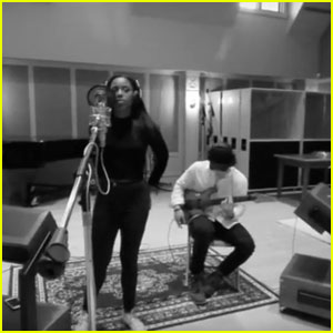 VIDEO: Riverdale's KJ Apa & Asha Bromfield Team Up For 'Black Beatles' Cover