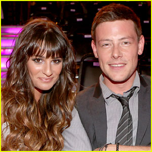 Lea Michele Posts Picture with Late Love Cory Monteith