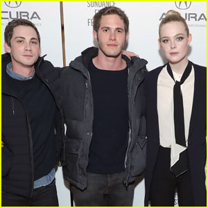 Elle Fanning & Blake Jenner Party With 'Sidney Hall' Cast at Sundance 2017