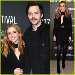 Zoey Deutch Looks Chic at Second Sundance Premiere with Nicholas Hoult!