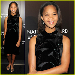 Quvenzhane Wallis is Growing Up Gorgeous!