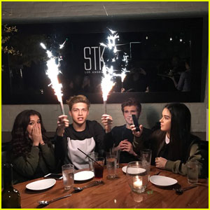 Exclusive: Ricky Garcia's Co-Stars Treat Him to Surprise 18th Birthday Dinner - Pics Inside!