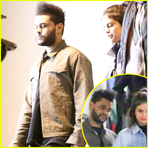 Selena Gomez Holds Hands with New Boyfriend The Weeknd After Dave & Busters Date Night!