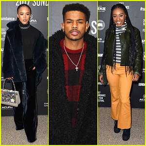 Serayah Slays at 'Burning Sands' Sundance Premiere with Trevor Jackson